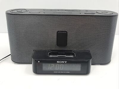 AU26.22 • Buy Sony Dream Machine IPhone / IPod Dock ICF-C1iPMK2 AM/FM Alarm Clock Radio