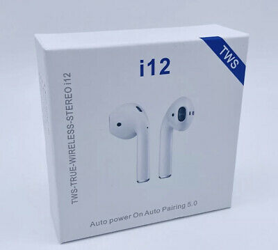 Wireless Bluetooth Earphones Air Pods Head Phones For Iphone & Android • 8.95£