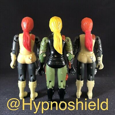 $ CDN18.83 • Buy Custom Flex Red Ponytail For 1982 GI Joe Scarlett. Resin Cast Custom Accessory