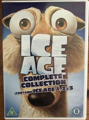 ICE AGE 1-3 Collection - DVD • 14£