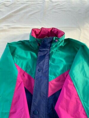 Ladies Peter Storm Performance Stormshield Turquoise/pink Waterproof Jacket S16 • 4.99£
