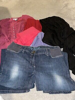 Maternity Jeans, Dress And Top Bundle Size 14 • 5£