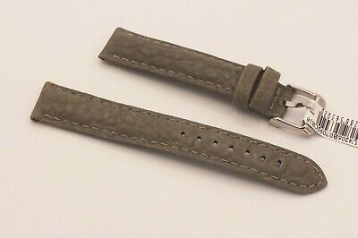 Morellato Racing Cuoio Sport Line Padded Watch Strap 18mm Olive Green • 3.99£