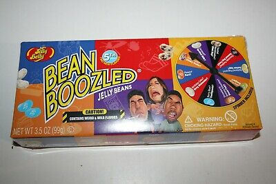 AU19.99 • Buy Jelly Belly BEAN BOOZLED Jelly Beans Spinner Wheel Game 5th Edition 99g Gift Box