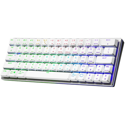 AU169 • Buy Cooler Master MasterKeys SK622 Gaming Keyboard White - Blue Switch