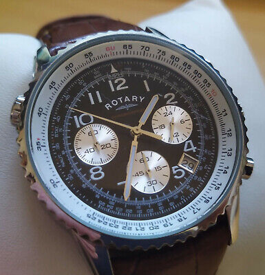Mens Rotary Chronospeed GS03351/19(13767), Chronograph With Slide Rule Feature. • 19.99£