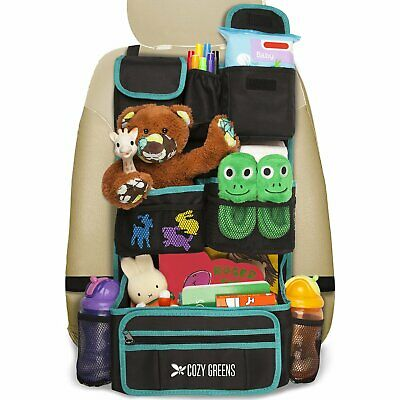 AU32.61 • Buy Backseat Car Organizer Baby Travel Accessories And Kids Storage