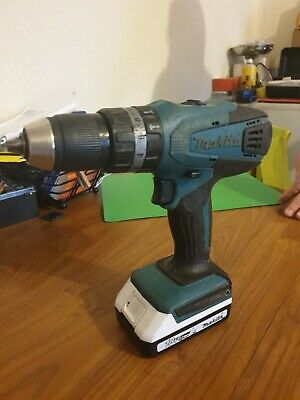 Makita Hp457d 18v Hammer Drill Used + Battery 1.3ah  • 41.99£