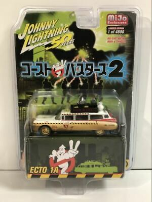 ECTO 1A Ghostbusters 50 Year Anniversary 1:64 Johnny Lightning JLCP7204 • 19.99£