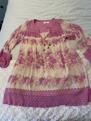 AU157.50 • Buy Spell And The Gypsy/ Free People Coco Lei Tunic Sz L EUC