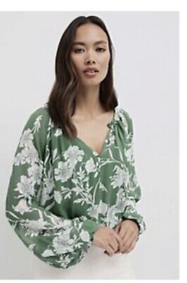 AU33 • Buy Witchery Size 16 Green Blouse