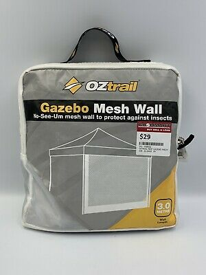 AU29 • Buy Oztrail Camping Tent Gazebo Mesh Side Wall Canopy 3.0 Metre (Wall Only)