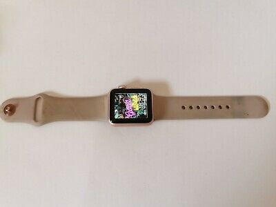 AU48 • Buy USED Apple Watch Series 1 38mm Rose Gold, Pink Band