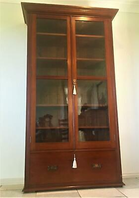 AU2800 • Buy Antique Australian Colonial Cedar Full Height Bookcase Circa 1900