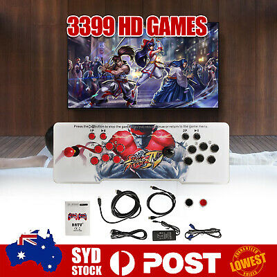 AU145.99 • Buy Pandora's Box 11S 3399 Games In 1 Arcade Console 2D & 3D Retro Video Game C