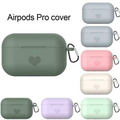 $ CDN4.58 • Buy Heart Silicone Case For Airpods 3 Airpod Pro Air Pods Skin Cover Charging I0X3