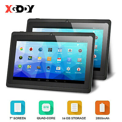 £44.99 • Buy 7 Inch Android Tablet 16G Quad Core Dual Camera Bluetooth Wifi Kids Tablet PC HD