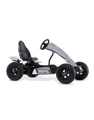 £1919 • Buy BERG Grey Race GTS E-BFR Pedal Go Kart With Pneumatic Tyres And Adjustable Seat