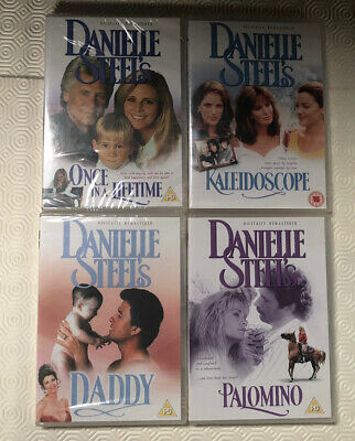 Danielle Steel's DVD Collection Of 4 Including Once In A Lifetime & Kaleidoscope • 8£