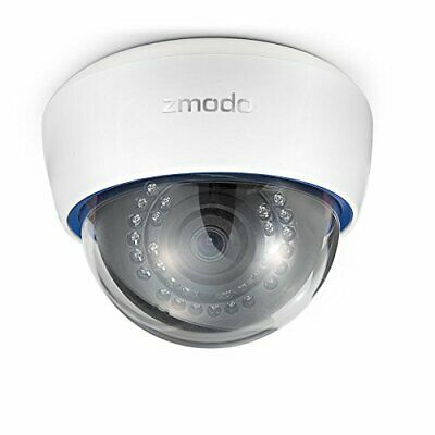 ZMODO ZP-IDR13-PA 720P HD PoE IP Network Dome Camera With Audio • 64.57£
