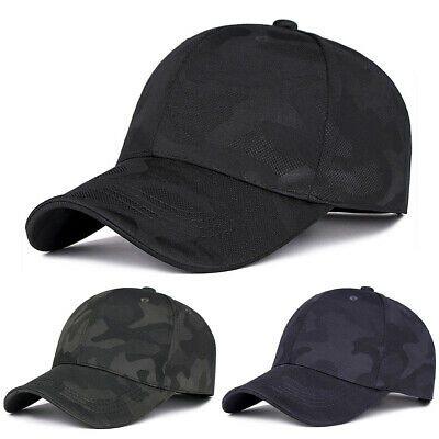 Mens Womens Army Military Camouflage Cap Hat Golf Driving Baseball Sports Caps • 5.09£