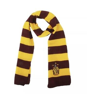 $ CDN11.19 • Buy Harry Potter Vouge Gryffindor House Cosplay Knit Wool Costume Scarf Wrap