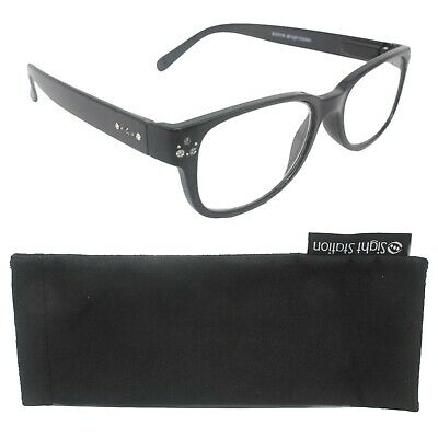£4.99 • Buy Sight Station Foster Grant Quality Diamante Reading Glasses +1.00 -Stella
