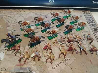 1 72 Plastic Soldiers Zvezda Macedonian Cavalry With Alexander The Great Lot 2 • 12.93£