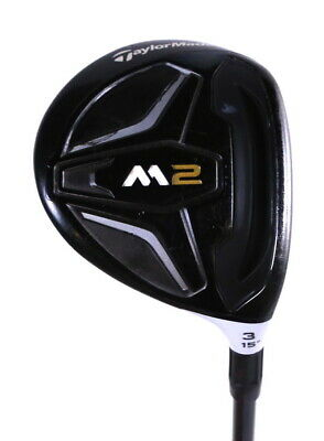 $ CDN164.13 • Buy TaylorMade M2 3 Wood 43in RH 15 Degree REAX Graphite Shaft Regular Flex