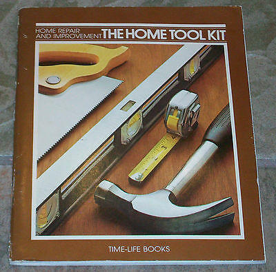 AU32.61 • Buy The Home Tool Kit, Home Repair And Improvement By Time-Life Books Paperback-1981