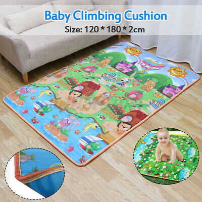 £11.99 • Buy 2 Side Kids Crawling Educational Game Play Baby Mat Soft Foam Carpet Home Picnic