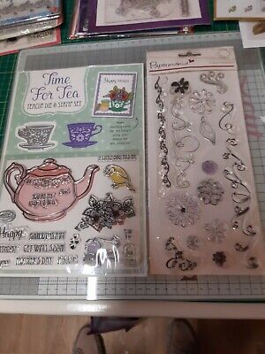 Clear Stamps For Card Making • 2£