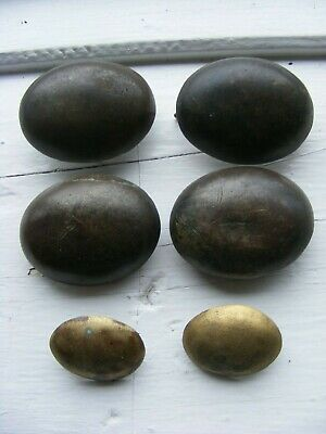 Antique Gipsy Brass Horse Hame Domed Studs Horse Leather Harness Shire  • 14.99£