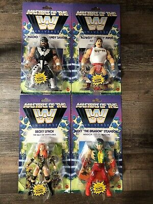 $100 • Buy WWE MOTU Masters Of The Universe Wave 5 Savage, Piper, Steamboat, Lynch