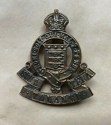 Royal Army Ordnance Corps -  Cap Badge - With Slider • 5£