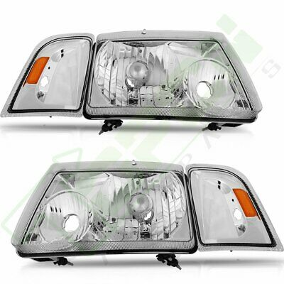 $75.17 • Buy Headlights For 2001-2011 Ford Ranger Driver + Passenger Sides Headlamp One Pair