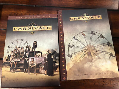 Carnivale - The Complete First Season (DVD, 2004, 6-Disc Set) Box W/slipcover • 7.12£