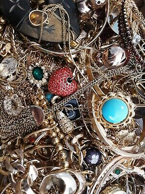 $ CDN18.93 • Buy #11 Vintage To Now Estate Find Jewelry Lot Junk Drawer Unsearched Untested Wear