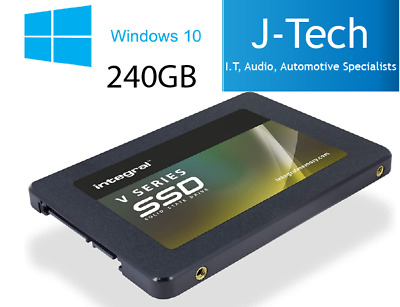 240Gb Integral SSD Windows 10 Pro Solid State Hard Drive Laptop PC 2.5 • 49.99£