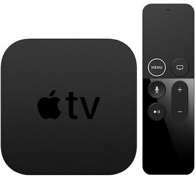 AU111.55 • Buy Apple TV 32GB 4K HD Media Streamer - Black (MQD22LL/A)  A1842 Plus Hdmi Cord