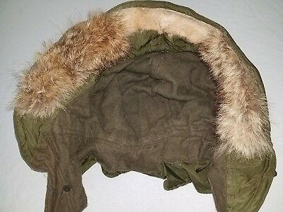 $19.99 • Buy M 1951Fishtail Parka Hood Replacement Wolf Fur Strip Govt Issue 23 Inch Long