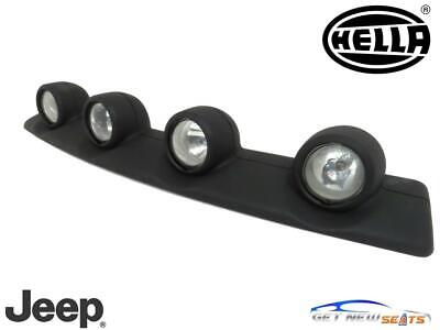 $324 • Buy Jeep Liberty Renegade KJ 2002 2007 Roof Mounted Off Road Light Bar Assembly OEM