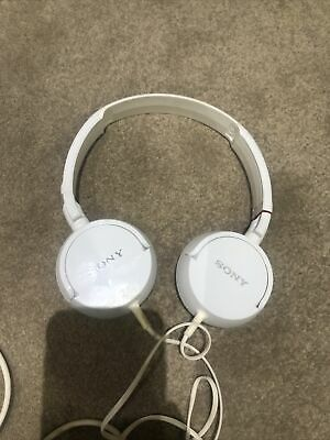 Sony MDR-ZX110 Over The Ear Standard Headphones - White • 9£