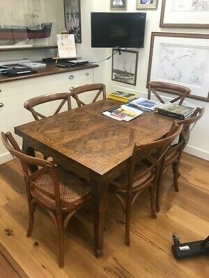 AU3500 • Buy Extension Dining Table French Parquet
