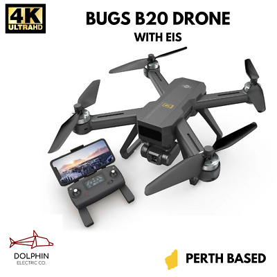 AU225 • Buy MJX Bugs B20 4K (2x Batteries) 5G FPV EIS Camera GPS Brushless RC Drone