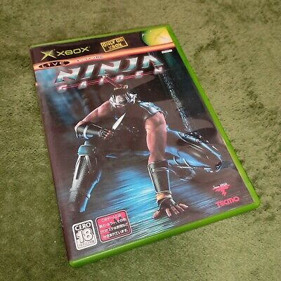 AU7.99 • Buy Ninja Gaiden Microsoft Xbox Game (Japan) NTSC-J