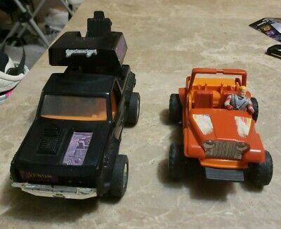 $60 • Buy M.A.S.K Vemon Truck And Orange Jeep Lot With One Figure