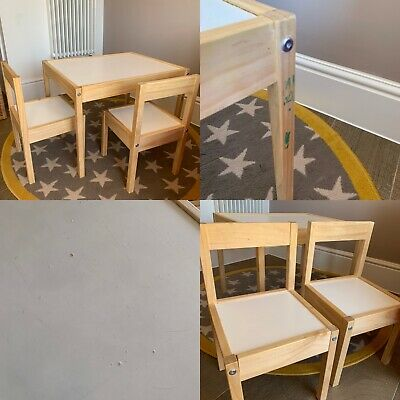 Ikea Kids Table And Chairs • 15£