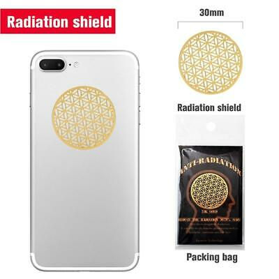 10pcs Anti Radiation Protector Shield EMF Protection Mobile Cell Phone Stickers • 6.76£