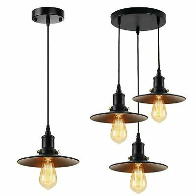 £48.83 • Buy Industrial Retro Pendant Light Shade Suspended Ceiling Lights Style Metal Lamp